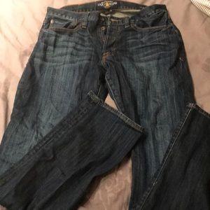 Lucky designer men's jeans